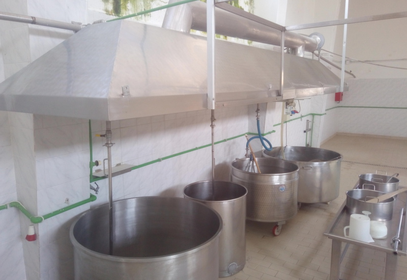 CHEESE PROCESSING EQUIPMENT